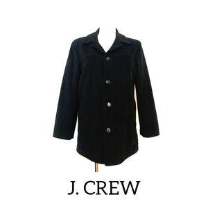 J. Crew Wool Pea coat black size small